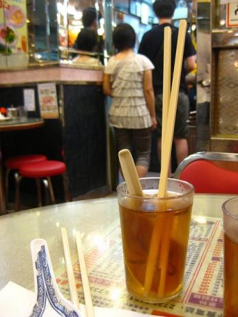 Hong Kong Food Culture - Washing Utensils