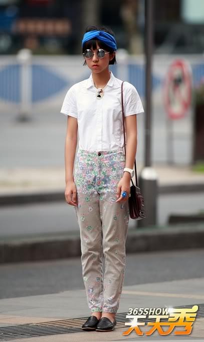 Remedy_Rouge_Chinese_Streetstyle_Blue_Headband_Round_Sunglasses
