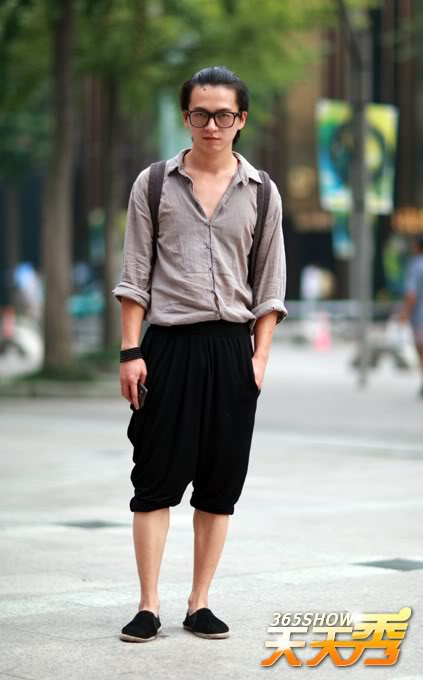 Remedy_Rouge_Chinese_Streetstyle_shoulder_straps_loose_shirt
