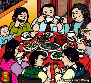 Chinese New Year Family Reunions