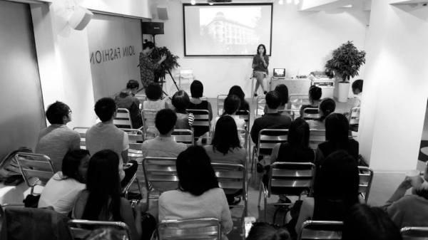 First talk by Faye Tsui.