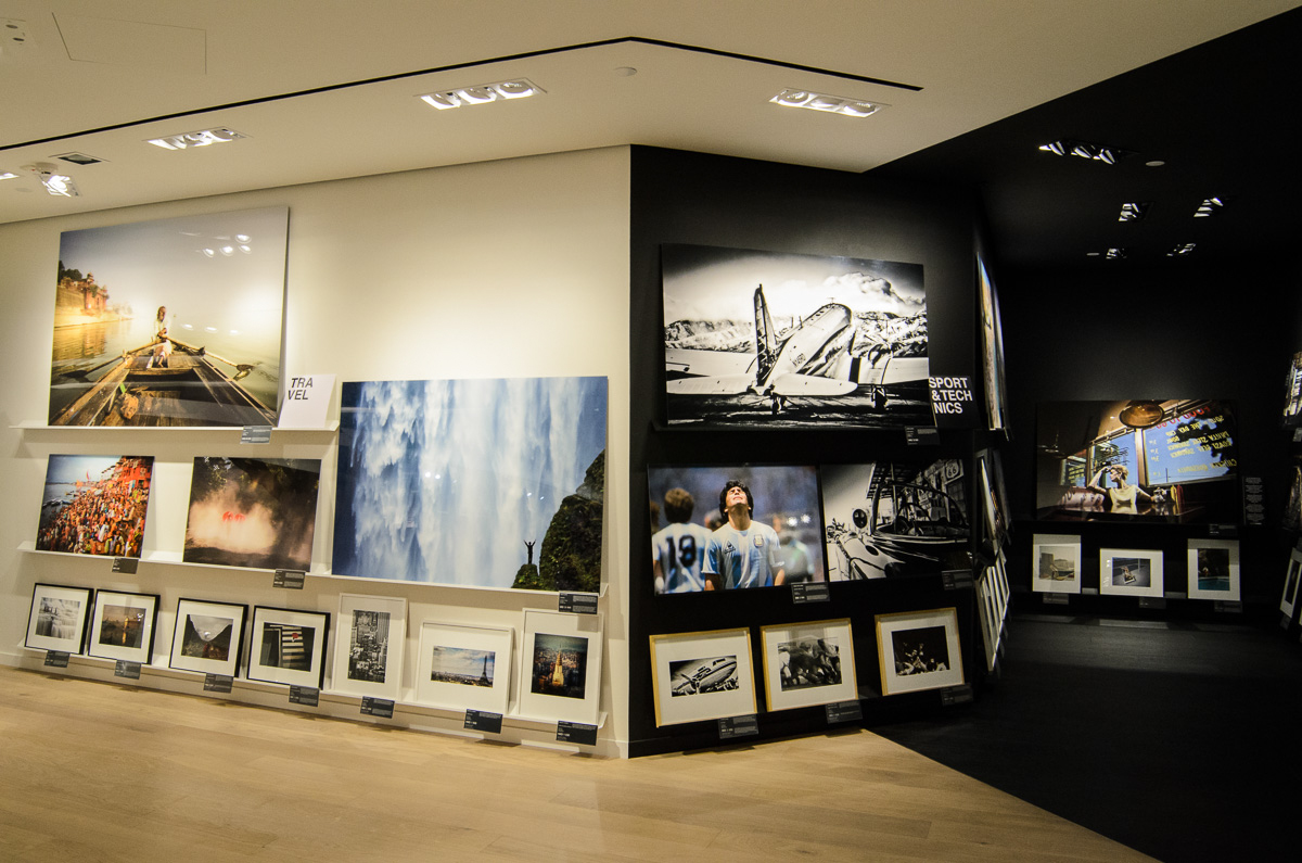 YellowKorner's Hong Kong gallery at the IFC Mall.